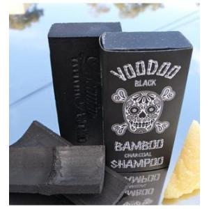 Voodoo Bamboo Charcoal Shampoo Bar From Australia with Organic Leatherwood Honey 100% Natural. 4.4 Oz No Plastic Bottles