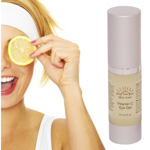 Remarkable Vitamin C Eye Gel ~ Remove Puffiness and Dark Circles From Under Your Eyes with Vitamin E, Peptides and Amino Acids ~ Receive Free Coconut