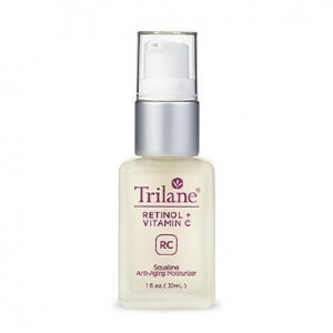 Trilane Retinol + Vitamin C and Squalane Visibly Reduces the Signs of Aging for More Luminous, Brighter Skin, 1 Bottle (1 fl. oz.)