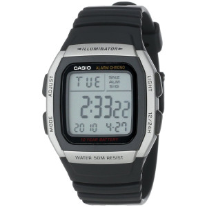 Casio Men's Alarm Chronograph Digital Sport Watch #W96H-1AV