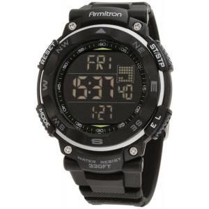 Armitron Sport Men's 40/8254BLK Black Digital Chronograph Watch