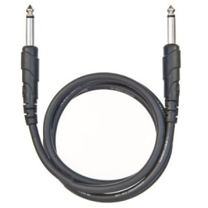 Planet Waves Classic Series 1/4 Inch to 1/4 Inch Patch Cable, 3 Feet