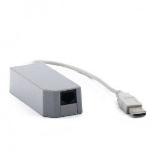 HDE (TM) Ethernet LAN Adapter for Nintendo Wii USB Port