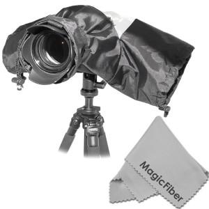 Altura Photo Professional Rain Cover for Large DSLR Cameras (Canon Nikon Sony Pentax Olympus Fuji) - Including CANON REBEL EOS T5i T4i T3i T3 T2i T1i