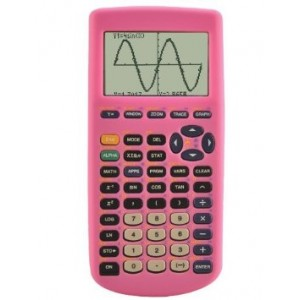 Guerrilla Silicone Case for Texas Instruments TI-83 Plus Graphing Calculator, Pink