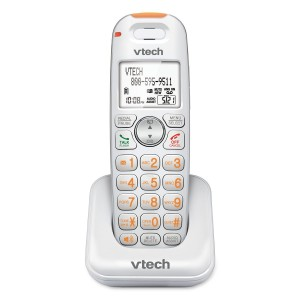 VTECH SN6107 CareLine Accessory Handset for SN6197 and Other Models, White