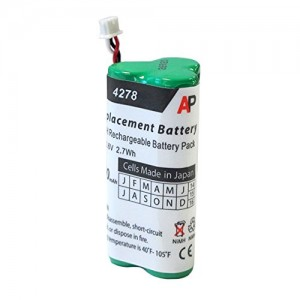 Motorola/Symbol LS-4278 and DS-6878 Scanners: Replacement Battery. 750 mAh.