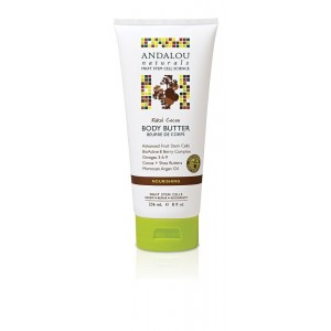 Andalou Naturals Body Butter, Kukui Cocoa, 8 Ounce