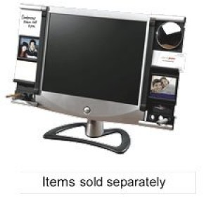 Aspect Right Side Monitor Frame, Black/Silver
