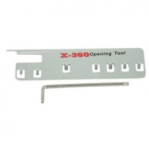 DIY opening repair tool kit for XBox 360