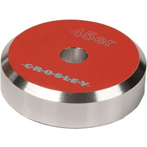 Crosley CR9001A-OR Aluminum 45 Adapter (Orange)