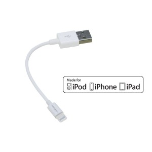 [Apple MFi Certified] HomeSpot 5 inches (13 centimeters) Lightning compatible USB Cable, compatible with iPhone 6, iPhone 5/5S/5C, iPad mini, iPad Ai