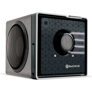 GOgroove BlueSYNC BX Portable Multimedia Bluetooth Speaker with NFC Technology and Removable Battery - Works With Apple iPhone 6 , 6 Plus , Motorola