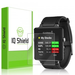 IQ Shield LiQuidSkin [6-Pack] - Garmin Vivoactive Screen Protector with Lifetime Replacement Warranty - High Definition (HD) Ultra Clear Smart Film -