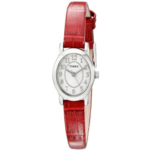 Timex Women's TW2P605009J Cavatina Analog Display Analog Quartz Red Watch