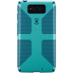 Speck Products Candy Shell Grip Case for Motorola Droid MAXX - Pool Blue/Deep Sea Blue