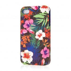 iPhone 4S Case, EMPIRE Signature Series Slim-Fit Case for Apple iPhone 4 / 4S - Hawaiian Blue Tropics