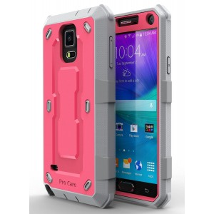 Note 4 Case, Galaxy Note 4 Case, E LV Galaxy Note 4 Case - SHOCK ABSORPTION / HIGH IMPACT RESISTANT Full Body Hybrid Armor Protection Defender Case C