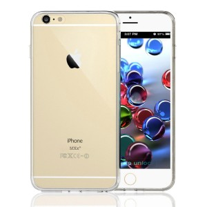 iPhone 6, Clear Case, Crystal Clear Case, Hybrid Bumper Case With, Ultra Clear Back Panel Cover, Clear Case, Silicone Integrated Shock-absorbing Bump
