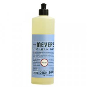 Mrs. Meyer's Liquid Dish Soap, Bluebell, 16 Fluid Ounce