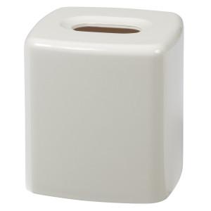 Creative Bath Products Gem Tissue Cover, White
