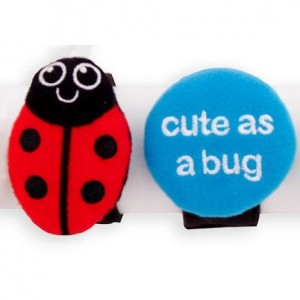 Sassy Charm Bands Ladybug and Cute as a Bug