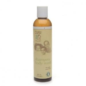 CARA B Naturally Shampoo and Body Wash for Baby 8 oz.