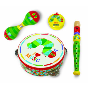World of Eric Carle, The Very Hungry Caterpillar Instrument Gift Set - Boxed by Kids Preferred