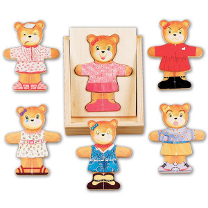Melissa and Doug Bear Dress-Up