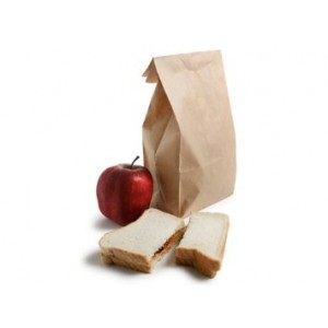 Nicole Home Collection Brown Paper Lunch Bags 40 Count