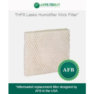 THF8 Lasko Humidifier Wick Filter. Fits Lasko Natural Cascade humidifier model #'s 1128, 1129, and 9930. Designed by AFB in the USA.