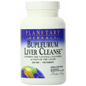 Planetary Formulations - Bupleurum Liver Cleanse, 545 mg, 150 tablets