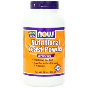 Now Foods Nutritional Yeast Powder, 10-Ounce