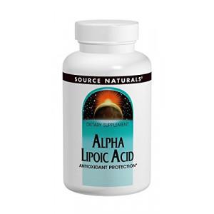 Source Naturals Alpha Lipoic Acid 300mg, 120 Tablets