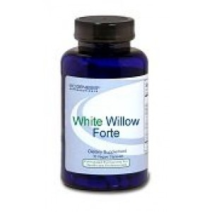 BioGenesis Nutraceuticals White Willow Forte - 120 Veg Capsules
