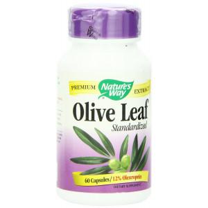 Nature's Way Olive Leaf, 60 Capsules