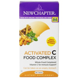 New Chapter Activated C Food Complex, 180 Tablets