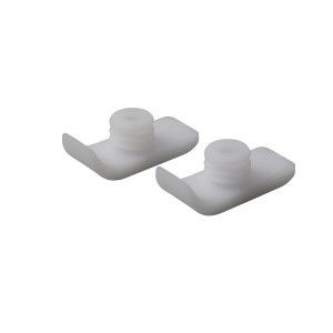 Drive Medical Walker Ski Glides, White