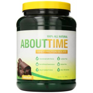SDC Nutrition About Time Whey Protein Isolate, Chocolate, 2 Pound