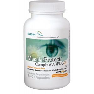 MacularProtect Complete AREDS2 Vitamin and Mineral Supplement