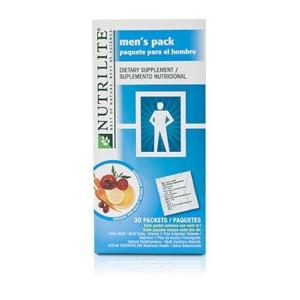 NUTRILITE Men's Supplement Packs 30 packets