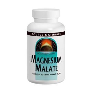 Source Naturals Magnesium Malate 625mg, 200 Capsules