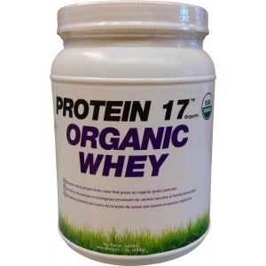 Organic Whey Protein 17 Supplement Powder, Delicious Natural, 1 Pound