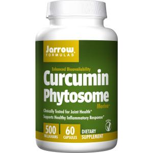 Jarrow Formulas Curcumin Phytosome Nutritional Supplements, 500 mg, 60 Count