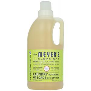 Mrs. Meyer's Clean Day Laundry Detergent-Lemon Verbena - 64 Loads