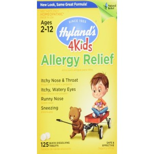 Hyland's Homeopathic Allergy Relief for Kids, 125 Count