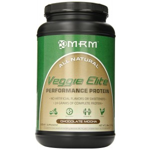 MRM Veggie Elite Dietary Supplement, Chocolate Mocha, 2.4 Pound