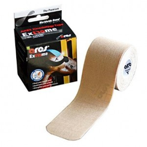 ARES Kinesiology Synthetic EXTREME Tape Gold 2 in x 16.5 ft