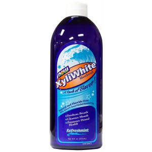 Now Foods, Xyliwhite Mouthwash with Xylitol, Cinnafresh, 16-Ounce