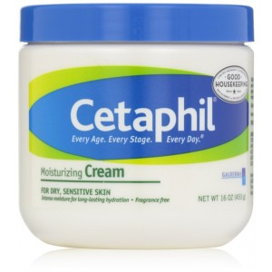 Cetaphil Moisturizing Cream, Fragrance Free, 16 Ounce (Pack of 2)